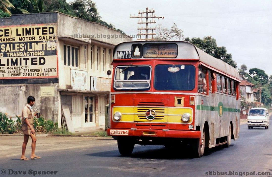 Ctb Bodied Mercedes Benz Lp 1113 Bus From Slctb Mawanella Depot