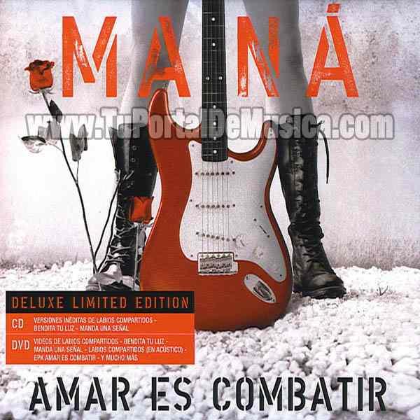 Mana - Amar Es Combatir (Deluxe Version) (2016)