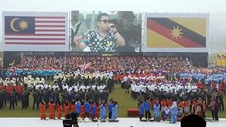 Sambutan Hari Kebangsaan Peringkat Negeri Sarawak meriah