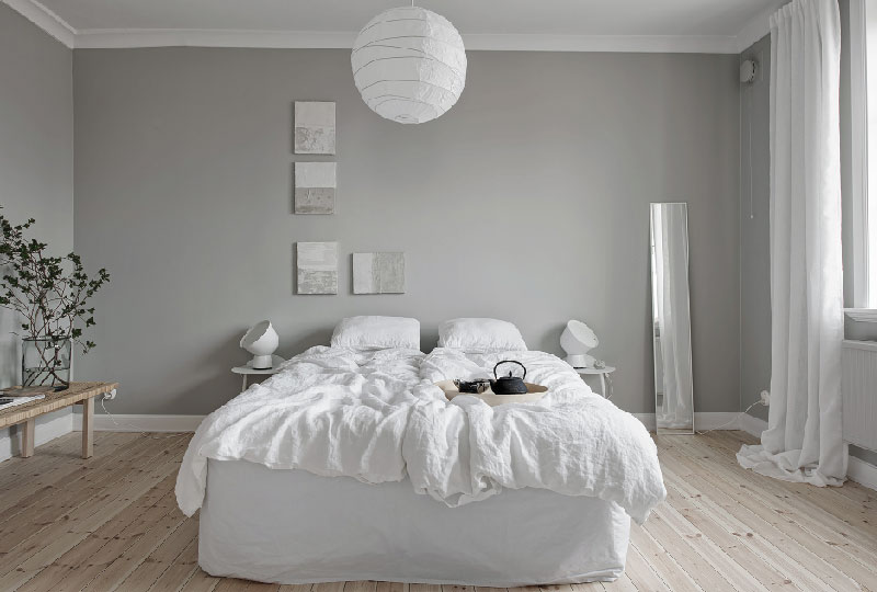 Appartamento accogliente dallo stile scandinavo