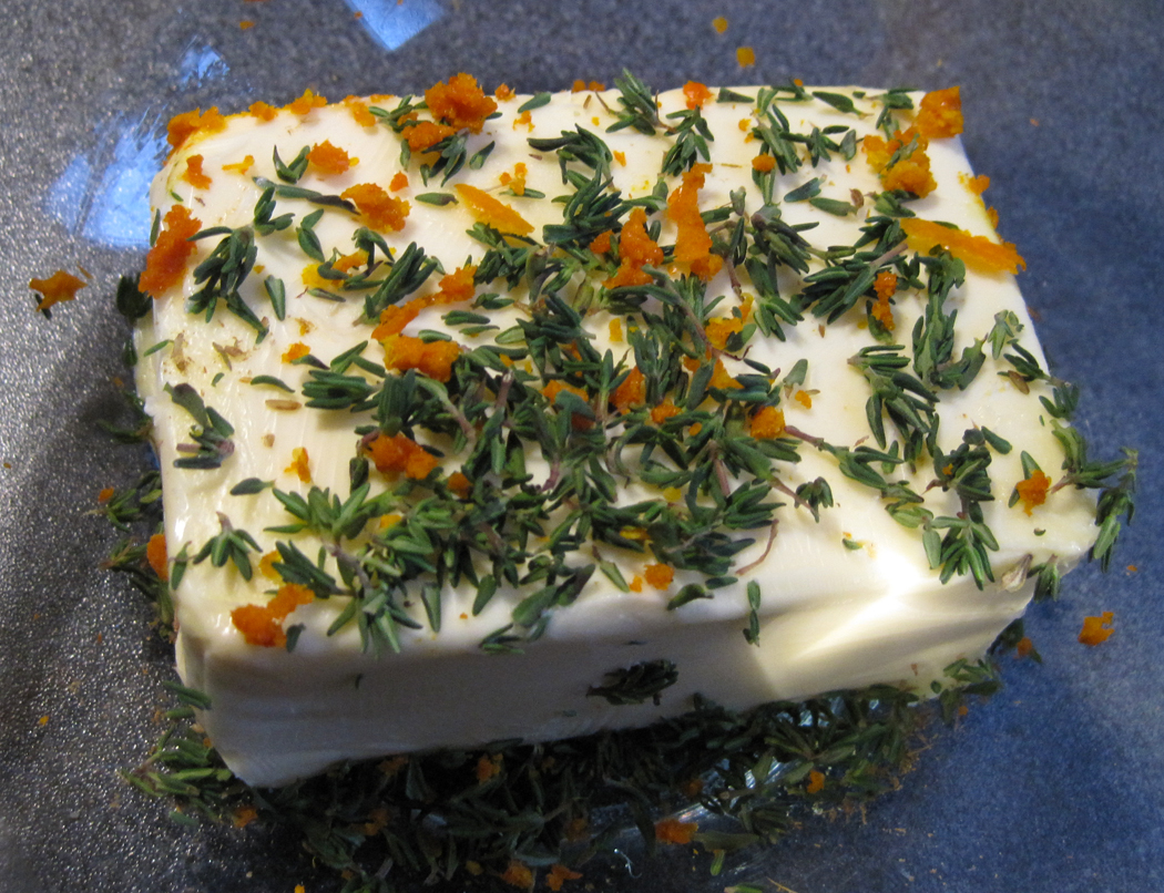 Thyme Cumin and Orange Flavoured Butter