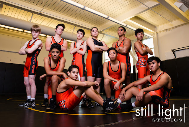still light studios best sports school senior portrait photography bay area peninsula san mateo wrestling
