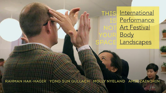 This is not your space - performance art