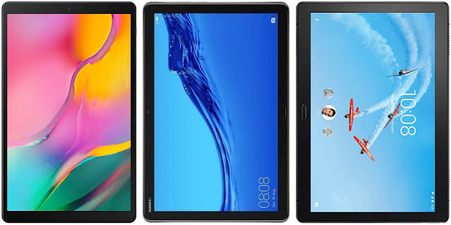 Comparativa tablets Android 10,1 pulgadas menos 200 euros