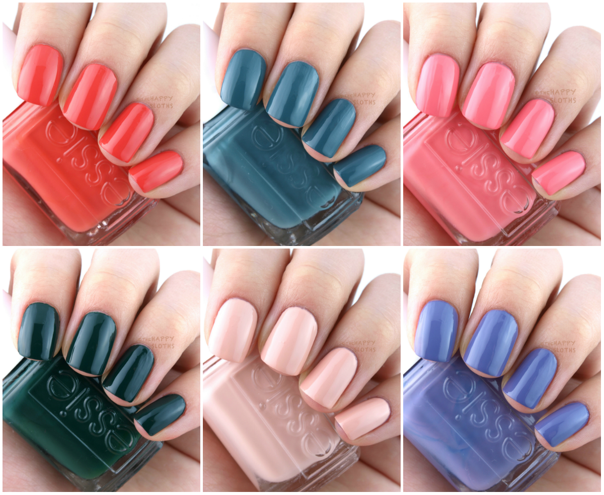 Essie Spring 2016 Collection: Review and Swatches | The Happy Sloths ...