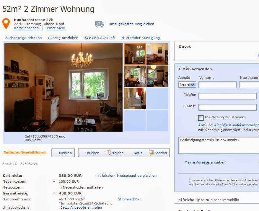 Zimmer Wohnung Hamburg Altona