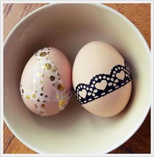 egyszerű húsvéti dekoráció