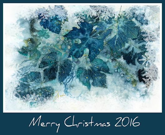 Botanical Holiday Greetings from the Studios of Sheri Trepina