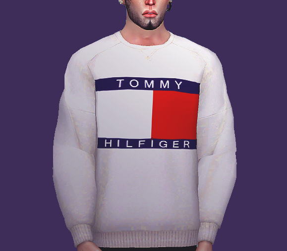 Ryllae Sims 4 Tommy Sweater for male sims | Sims 4 CC | Sims