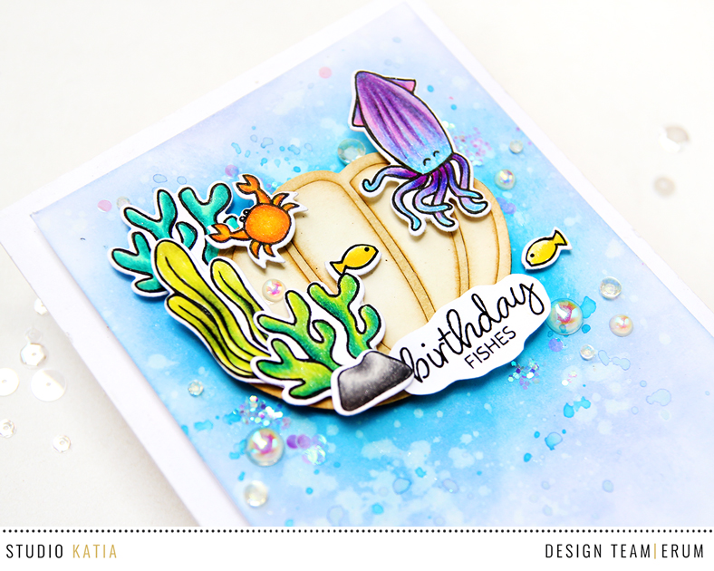 Studio Katia Under the Sea | Seashell Shaker | Erum Tasneem | @pr0digy0