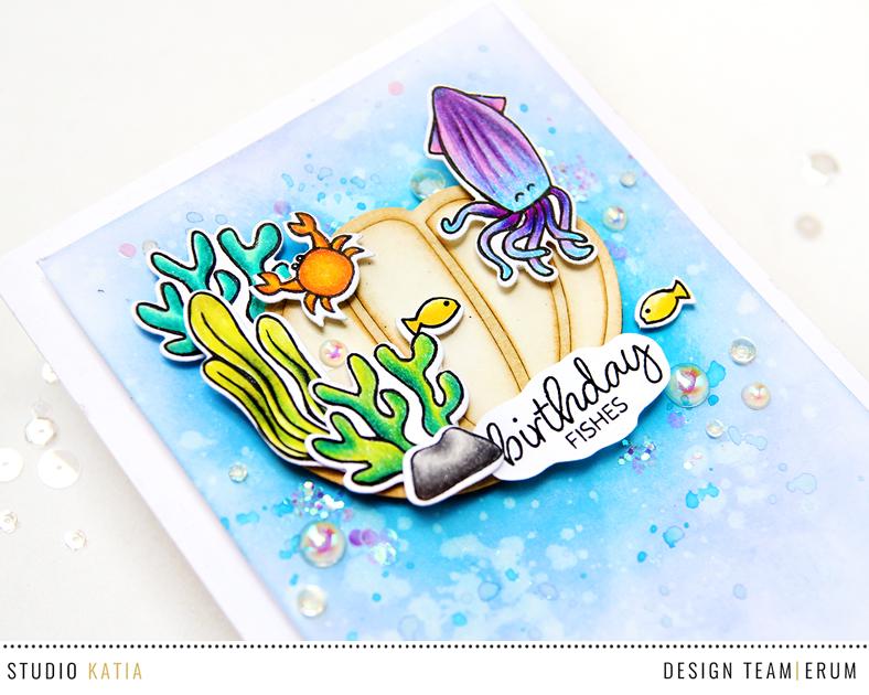 Studio Katia Under the Sea | Seashell Shaker | Erum Tasneem | @pr0digy0