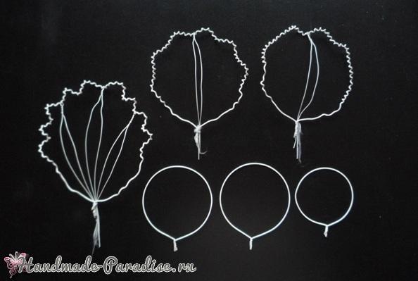 Шаблоны для создания цветов Орхидеи Каттлеи (2)