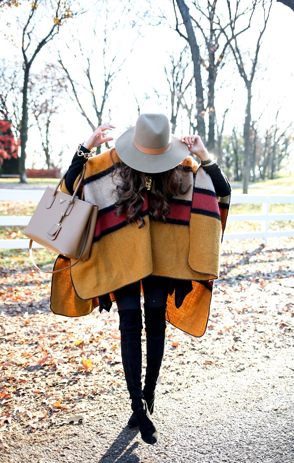 8ab4627393c3e Casual Cape Outfit   The Sweetest Thing   Bloglovin'
