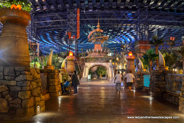 the lost valley at IMG Worlds of Adventure