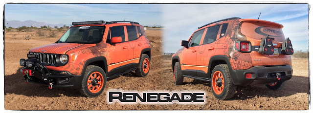 Daystar Jeep Renegade