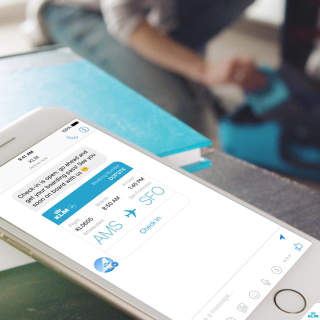 KLM y Facebook Messenger crean alianza para dar servicio a través de redes sociales