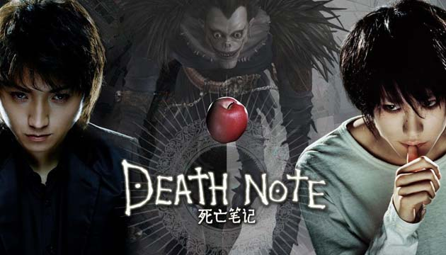 daftar film death note