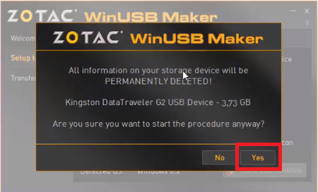 Cara Membuat Bootable OS Flahsdisk Dengan Zotac WinUSB Maker