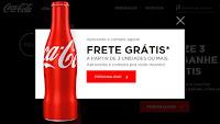 Garrafinha Coca-Cola Personalizada com Frete Grátis