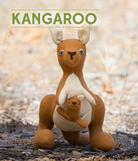 kangaroo puppet template - jill hamor 39 s blog