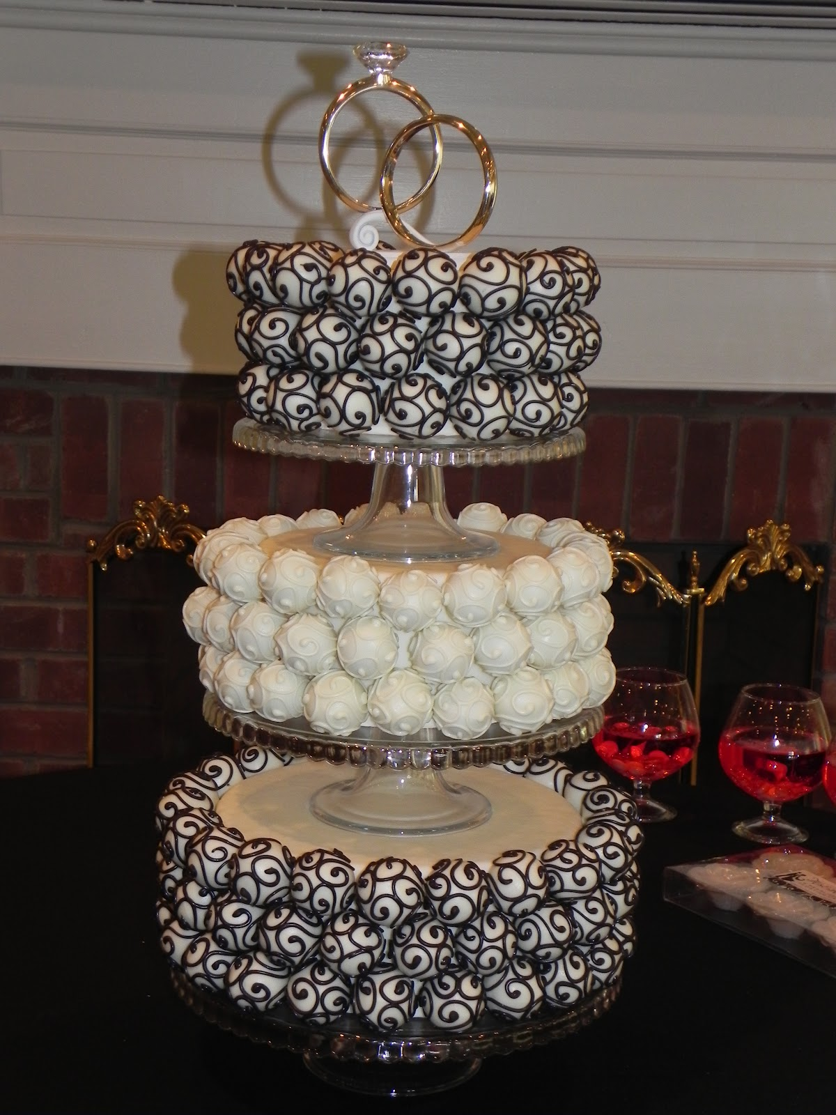 Diy Wedding Cake Pop Stand