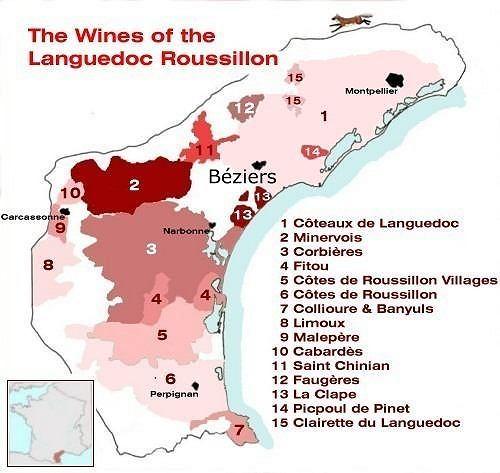 Primeira fotogarfia publicada no artigo Mapa de Languedoc e Roussillon