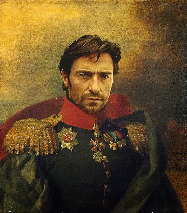 19. yüzyıl rus generalleri kılığında film ve pop yıldızları