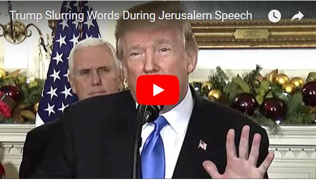VIDEO Detik-detik Donald Trump Kesulitan Berbicara, Lidahnya Kelu Gejala STROKE!