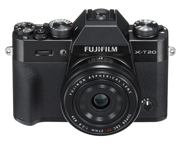 Fotografia della Fuji X-T20 con il 27mm