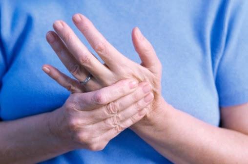 mãos-dormência