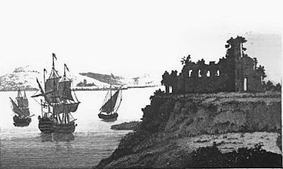 Sandsfoot Castle from The Lady's Magazine (1789)