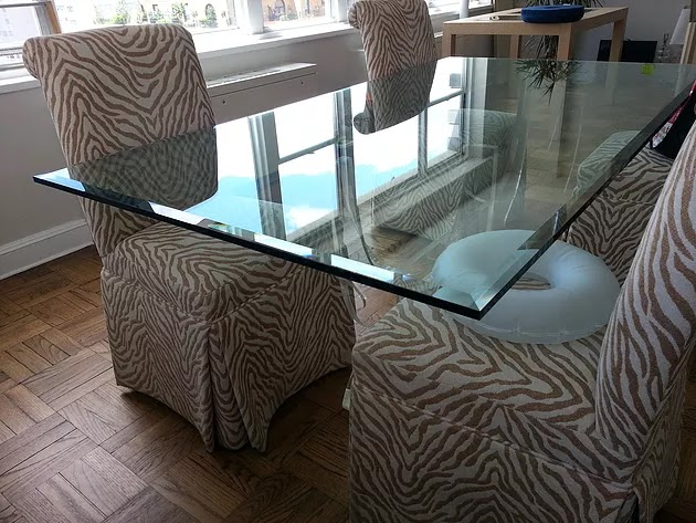Glass table tops new york