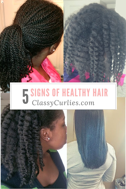 signs of healthy hair