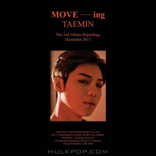 TAEMIN – MOVE-ing – The 2nd Album Repackage (ITUNES PLUS AAC M4A)