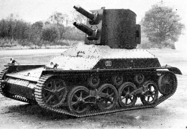 The Man Cave British Prototype Tanks Of WW2