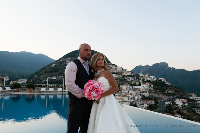 Wedding portrait Hotel Caruso