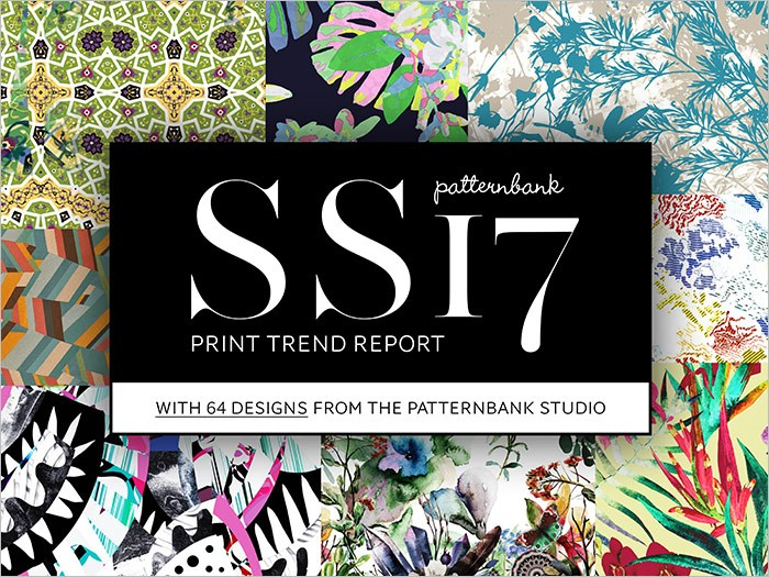 Fashion trends fw 2017 - Fashion Vignette Trends Patternbank S S 2017 Print