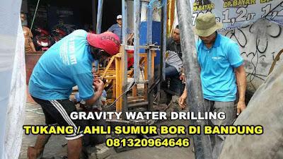 Bikin Sumur Bor di Bandung