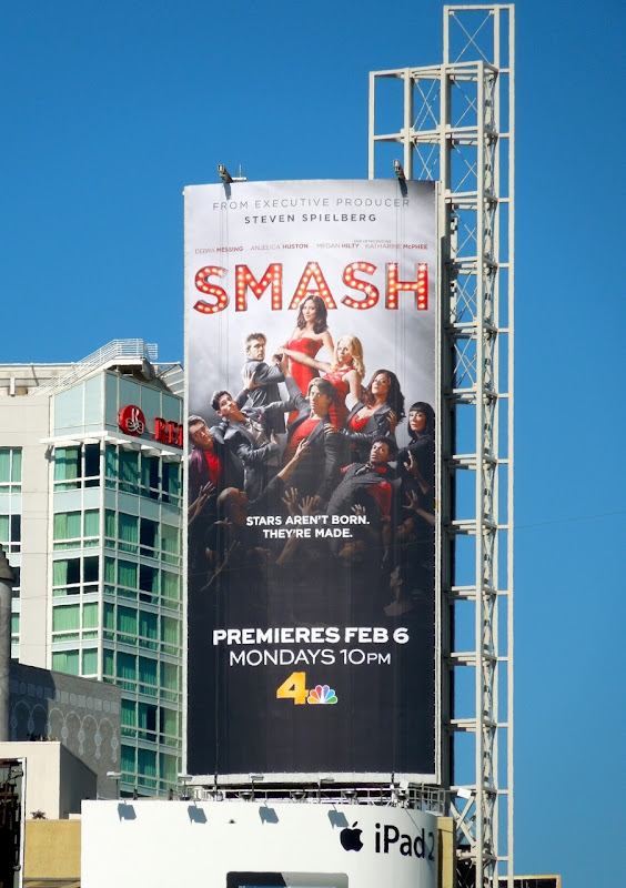Smash NBC billboard