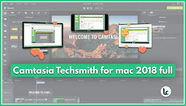 Camtasia Techsmith for mac 2018 full version