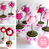 DIY Plush Flower Pots Centerpiece Tutorial