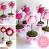 DIY Plush Flower Pots Centerpiece Tutorial