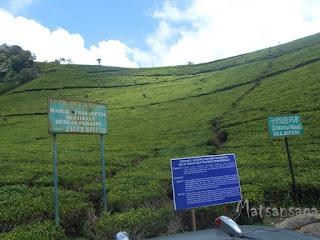 Lokasi parkir menuju pintu masuk Goa Jepang Kaligua