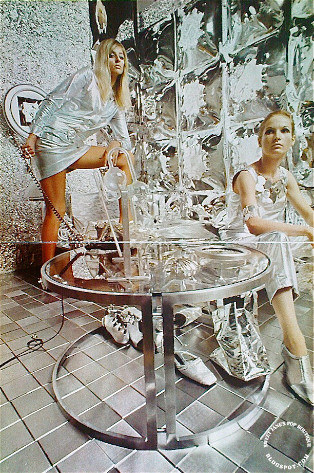 1966 silver fashion, photographs by Duffy
