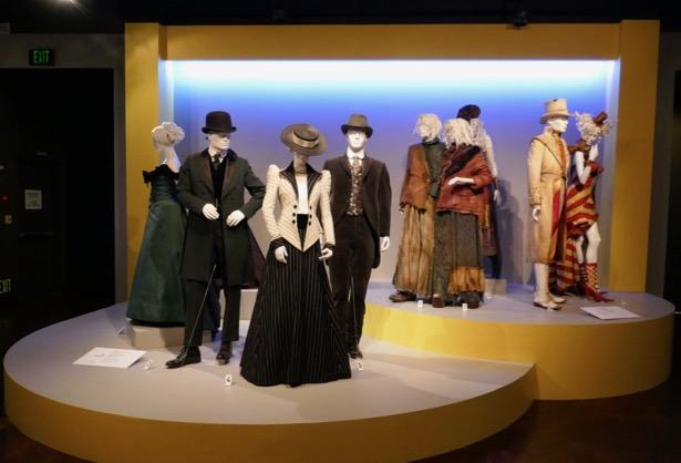 Alienist costume exhibit FIDM Museum