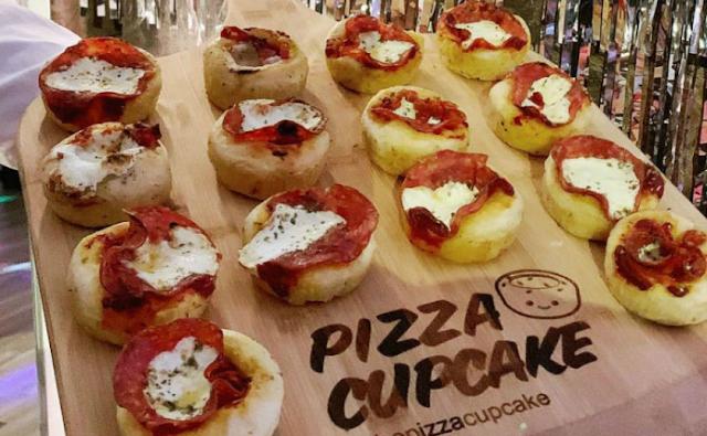 Makanan Gemas Cupcake Pizza