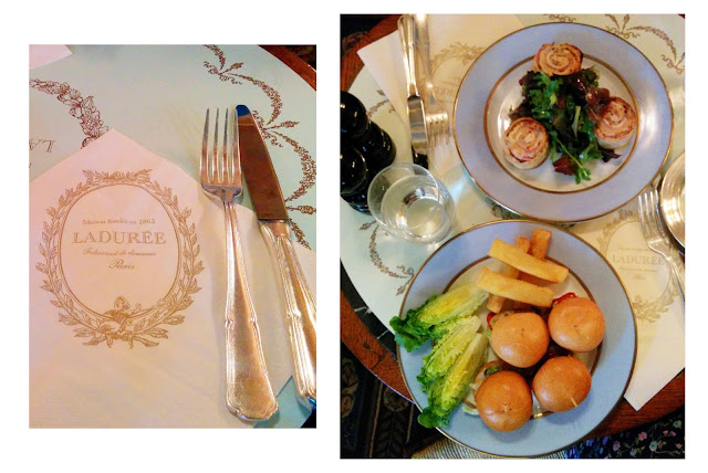 laduree lunch paris