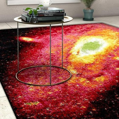 Starburst Galaxy Area Carpet