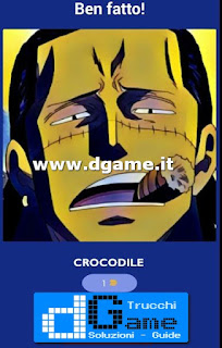 Soluzioni Guess The One Piece Character livello 6