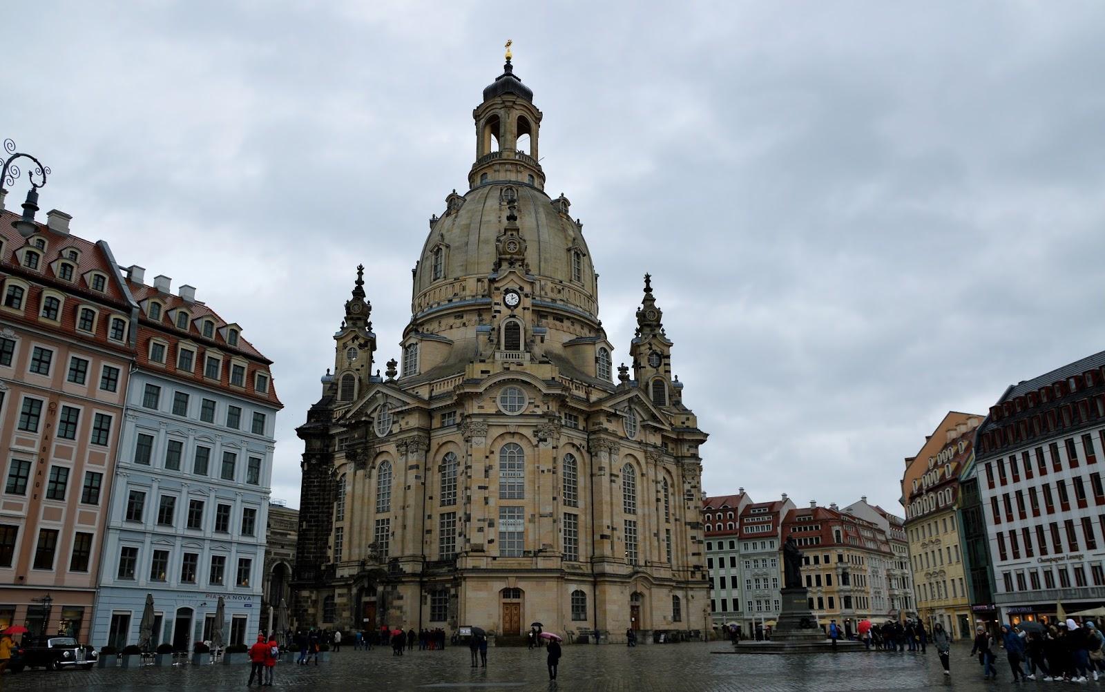 Frauenkirche Kościół Marii Panny Neumarkt Drezno